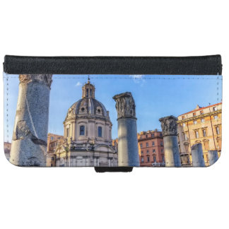 Forum Romanum, Rome, Italy iPhone 6 Wallet Case