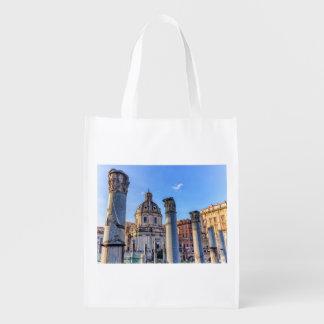 Forum Romanum, Rome, Italy Reusable Grocery Bag