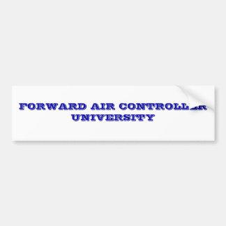 FORWARD AIR CONTROLLER UNIVERSITY BUMPER STICKER