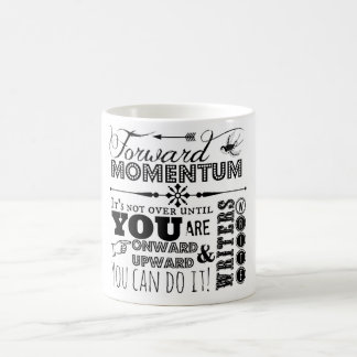 Forward Momentum mug for writers
