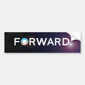 Forward Obama 2012 Election Bumper Sticker