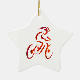 FORWARD THE MOTION CERAMIC ORNAMENT