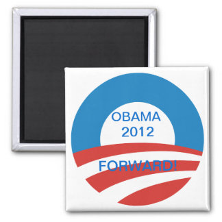 FORWARD WE MOVE SQUARE MAGNET