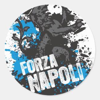 Forza Napoli Classic Round Sticker
