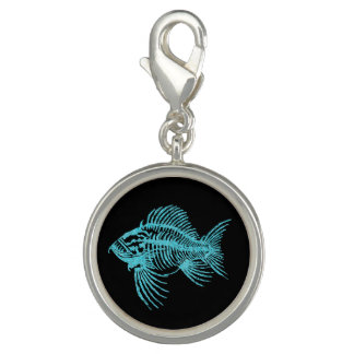 Fossil Fish Charms