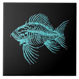 Fossil Fish Tile