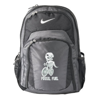 Fossil fuel backpack