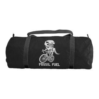 Fossil fuel gym bag