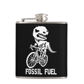 Fossil fuel hip flask