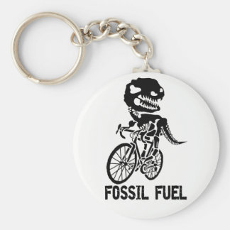 Fossil fuel keychain