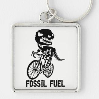 Fossil fuel keychain