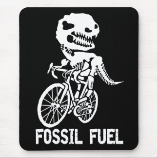 Fossil fuel mouse pad