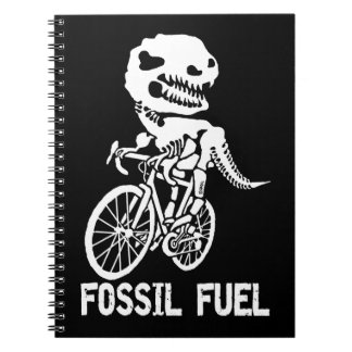 Fossil fuel notebook