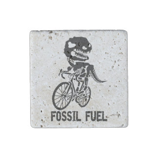 Fossil fuel stone magnets