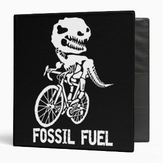 Fossil fuel vinyl binders