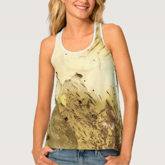 Fossil insect in amber | tank top
