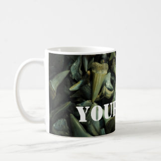 Fossil Shark Tooth Collection Coffee Mug