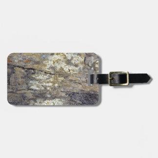 Fossil Wood Bag Tag