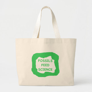 Fossils feed science .png jumbo tote bag