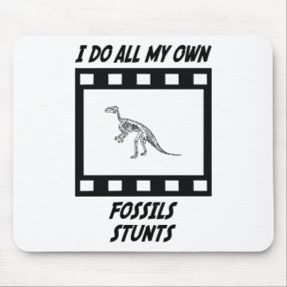 Fossils Stunts Mouse Mat