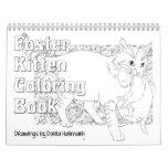 Foster Kitten Colouring Calendar