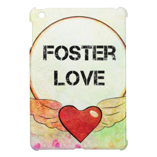 Foster Love Watercolor Heart Case For The iPad Mini