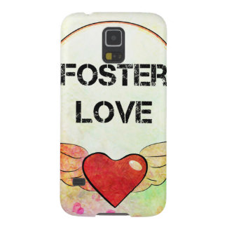 Foster Love Watercolor Heart Galaxy S5 Case