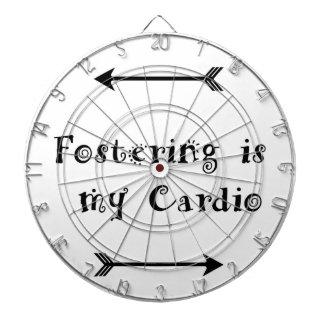 Fostering is my Cardio - Foster Care Dartboard