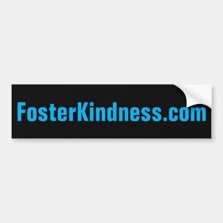 FosterKindness.com Bumper Sticker