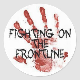 FOTF Handprint Sticker