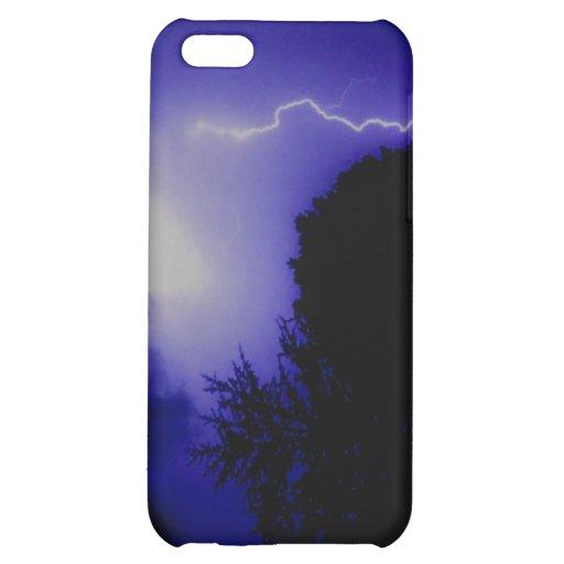 Foudre bleue étuis iPhone 5C