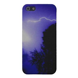 Foudre bleue étuis iPhone 5
