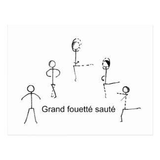 Fouette Postcard