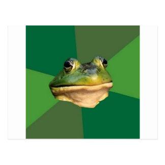 Foul Bachelor Frog Post Card