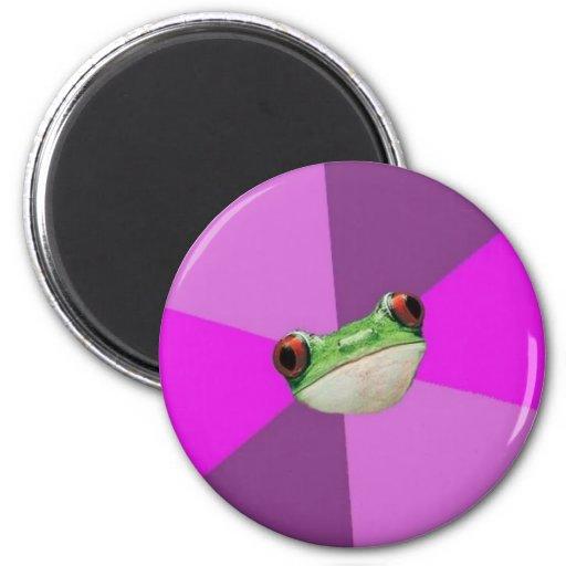 Foul Bachelorette Frog Magnet