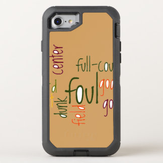 Foul Dunk OtterBox Defender iPhone 6/6s OtterBox Defender iPhone 7 Case