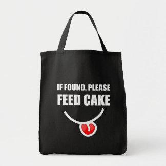 Found Feed Cake