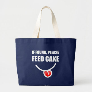 Found Feed Cake Large Tote Bag