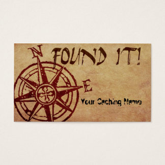 Found it! leave-behind cache card