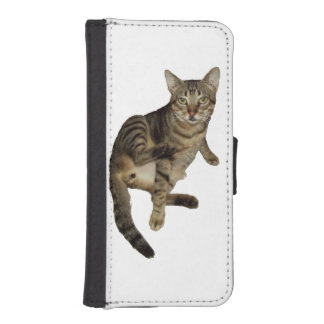 Found-portfolio for iPhone Charming Cat iPhone SE/5/5s Wallet Case