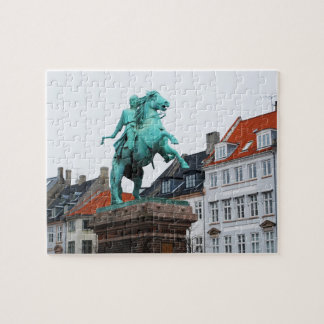 Founder of Copenhagen Absalon - Højbro Plads Jigsaw Puzzle