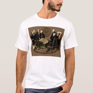 Founding Fathers Freedom July 4, 1776 T-Shirt