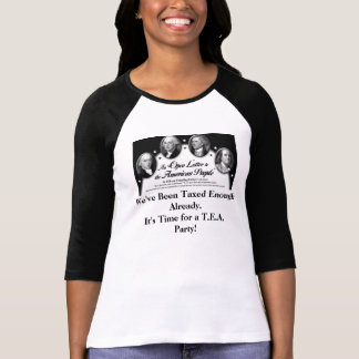 Founding Fathers Message T Shirts