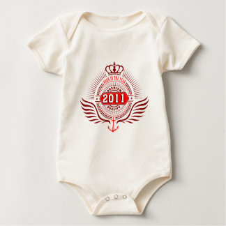 fount in 2010, fount in 2011 baby bodysuit