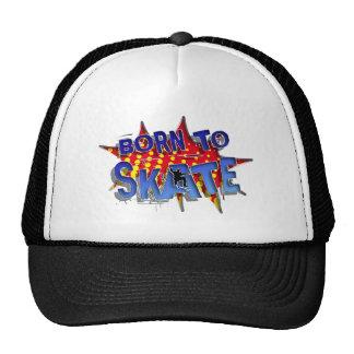 fount ton skate trucker hat