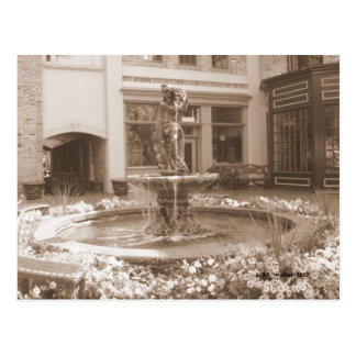 Fountain-a-Bloom Postcard