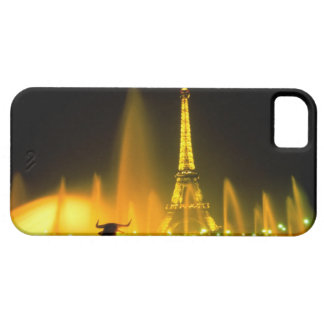 Fountain at the world famous Eiffel Tower Paris iPhone 5 Case