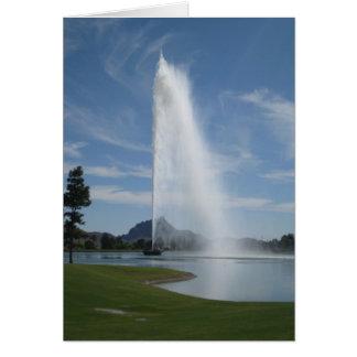 Fountain Hills, Arizona Card