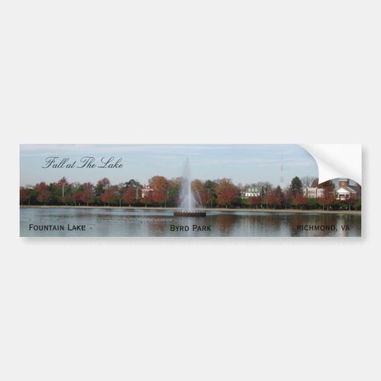 Fountain Lake Bumper Sticker