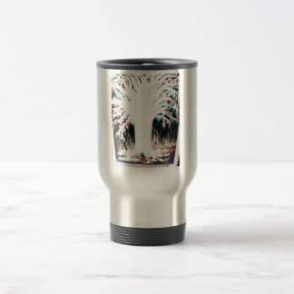 Fountain of Life Stainless Steel Travel Mug